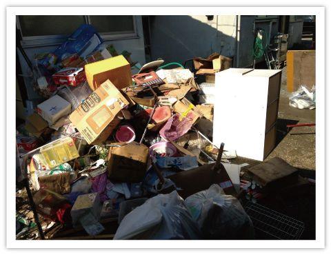 ゴミ屋敷写真1