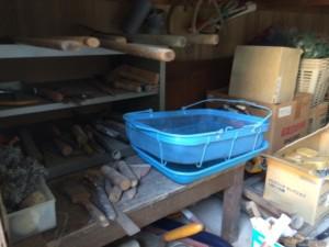 倉庫の回収・片付け作業